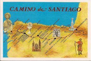 storia del cammino de Santiago